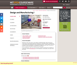 Design and Manufacturing I