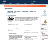 Exploring 19th-Century Child Labor Laws in the United States