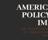 American Public Policy and Its Impact