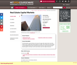 Real Estate Capital Markets, Spring 2007