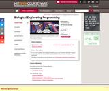 Biological Engineering Programming, Spring 2006