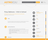 Fizzy Balloons - CO2 in School
