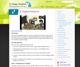 21 Things 4 Students: Thing 5 - Digital Footprint