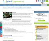 Abdominal Cavity and Laparoscopic Surgery