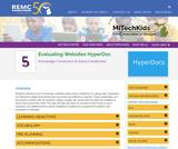 Evaluating Websites HyperDoc