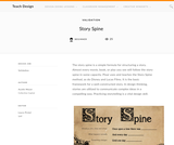 Teach Design: Story Spine