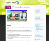 21 Things 4 Students: Thing 17 - Creative Communications