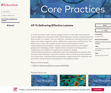 CP 11: Delivering Effective Lessons