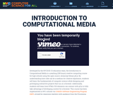 Introduction to Computational Media (Grade 10)