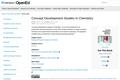 Concept Development Studies in Chemistry