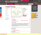 Language Processing, Fall 2004