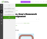 5.NF Mrs. Gray's Homework Assignment