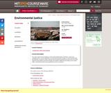 Environmental Justice, Fall 2004