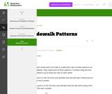 5.OA Sidewalk Patterns