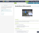 Garden Science: Microscope Lab