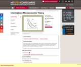 Intermediate Microeconomic Theory, Fall 2006