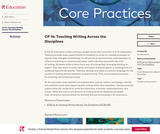CP 14: Teaching Writing Across the Disciplines