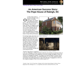 An American Success Story: The Pope House of Raleigh, NC