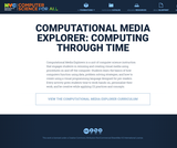 Computational Media Explorer: Computing Through Time (Grades K-2)