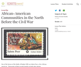African-American Communities in the North Before the Civil War