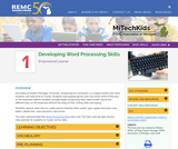 Developing Word Processing Skills