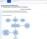 1 - Multiplication & Division Patterns & Relation