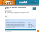 Physics 250 Laboratory: Conservation of Energy