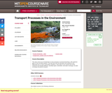 Transport Processes in the Environment, Fall 2008