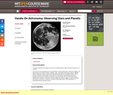 Hands-On Astronomy: Observing Stars & Planets