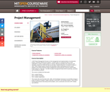 Project Management, Spring 2009