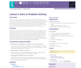 CS Discoveries 2019-2020: Problem Solving Lesson 1.1: Intro to Problem Solving
