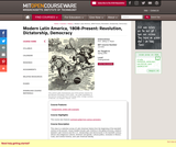 Modern Latin America, 1808-Present: Revolution, Dictatorship, Democracy, Spring 2005