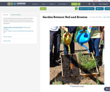 Garden Science: Soil and Erosion