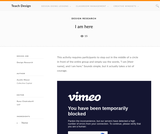 Teach Design: I Am Here
