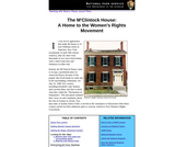 The M'Clintock House: A Home to the Women's Rights Movement
