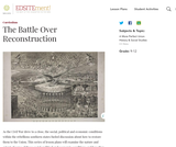 The Battle Over Reconstruction