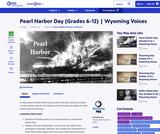 Pearl Harbor Day (Grades 6-12)