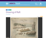 Drawing of a Raft 02/14/1818