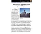 Independence Hall: International Symbol of Freedom