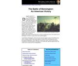 The Battle of Bennington: An American Victory