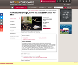 Architectural Design, Level III: A Student Center for MIT, Fall 2004