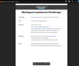 Michigan Landmark Challenge 2019