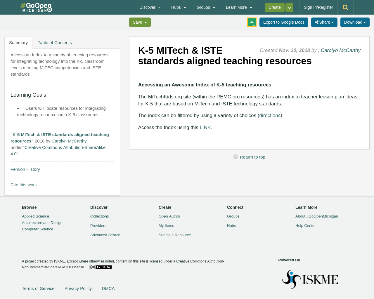 K-5 MITech & ISTE standards aligned teaching resources ...