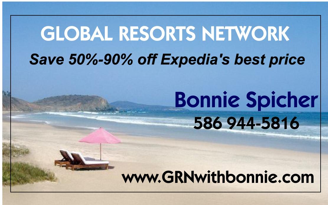 Global Resorts Network - Cart Sponsor