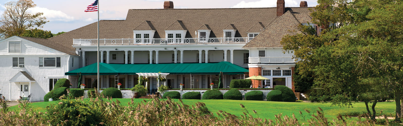 Timber Point's gorgeous clubhouse.