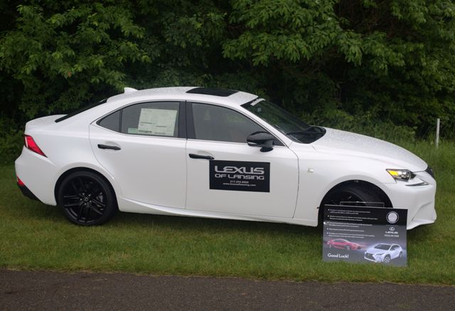Chance to win a Lexus!