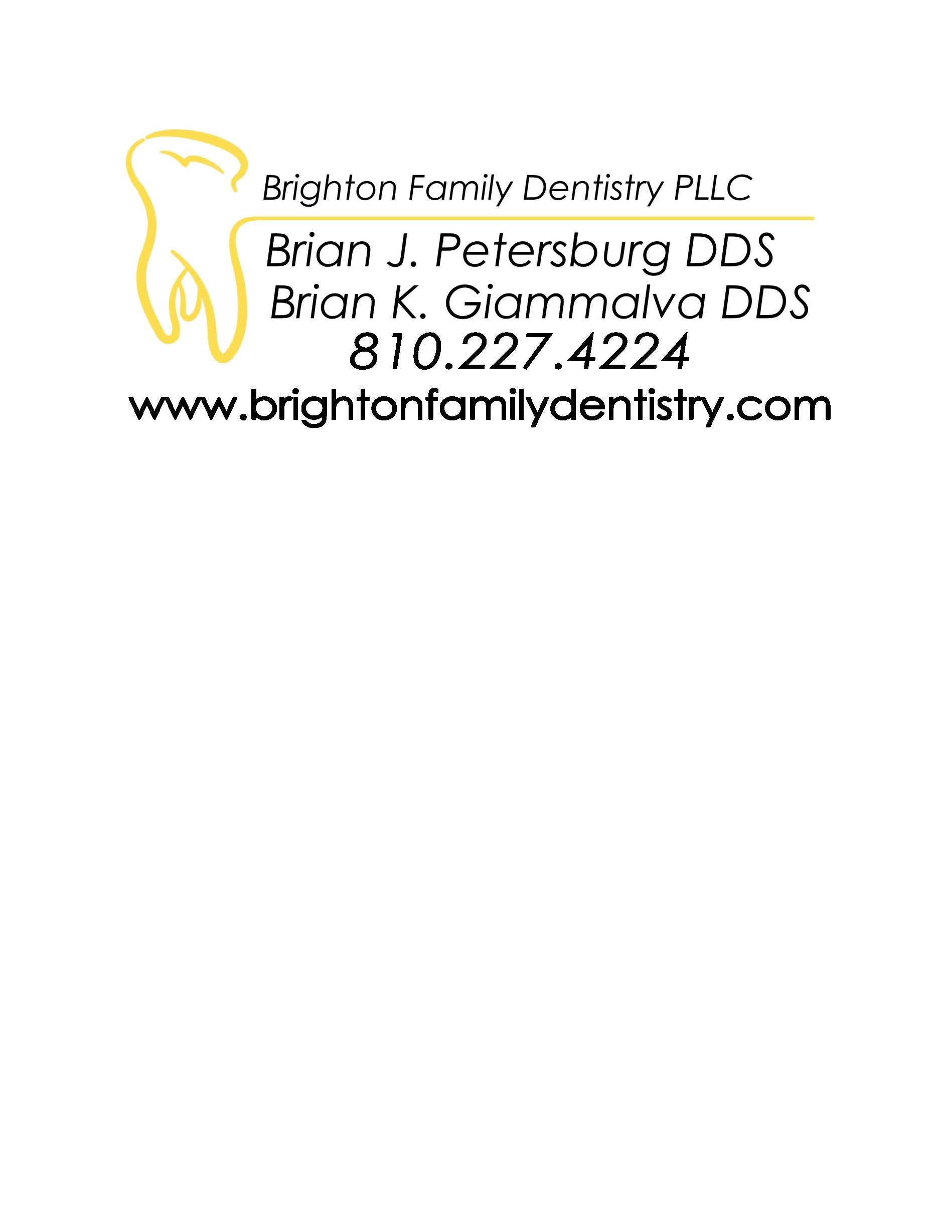 Beverage Sponsor - Brighton Family Dentistry