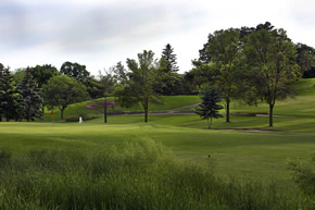 Hole #9 at Columbia Golf Course