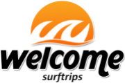 Logotipo Welcome Surf Trips