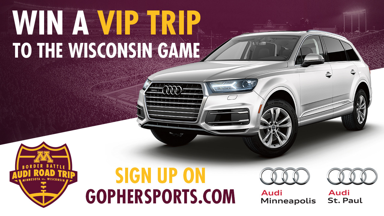 Win A Border Battle Road Trip From Audi University Of Minnesota - Minneapolis audi
